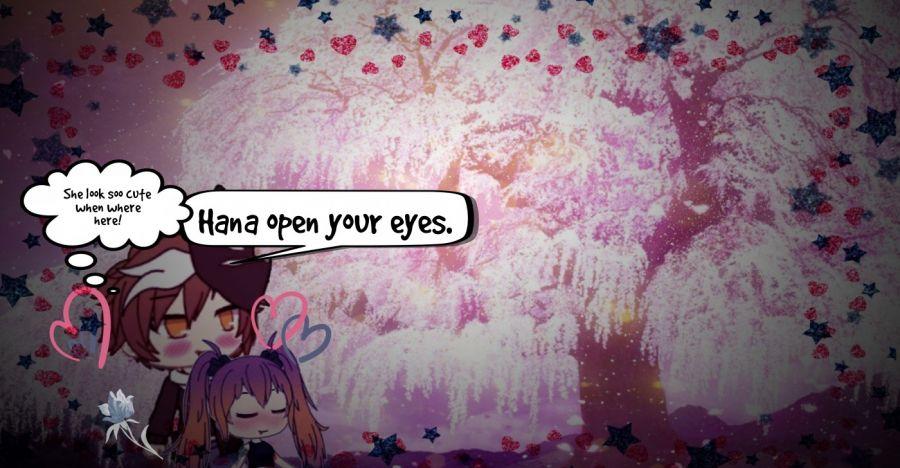 Hana open your eyes.  | phrase.it