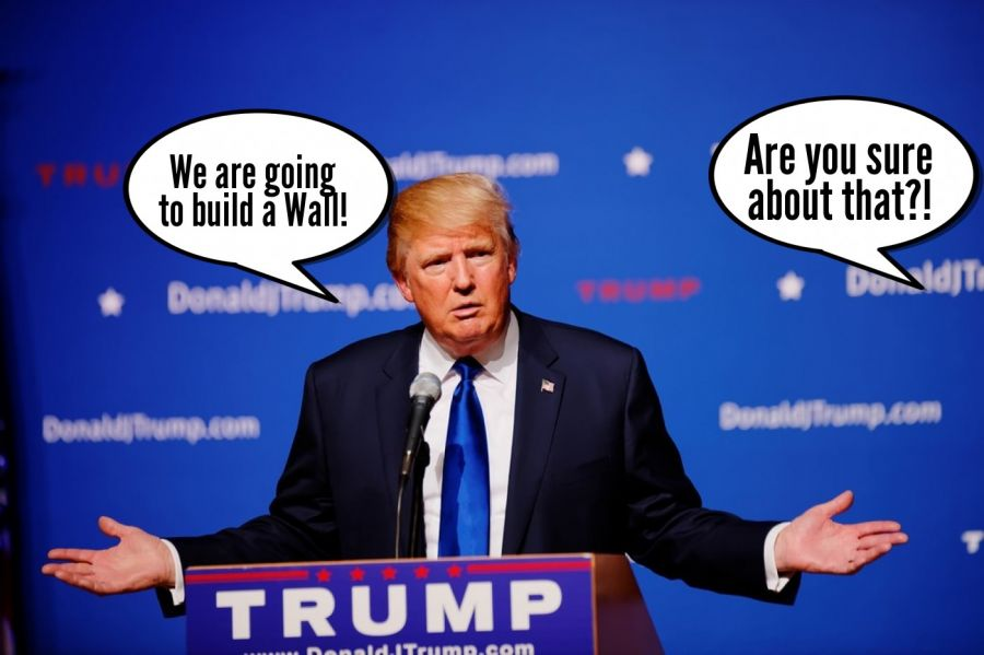 We are going to build a Wall!    phrase.it