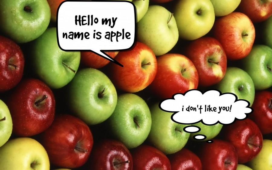 HEllo my name is apple  | phrase.it
