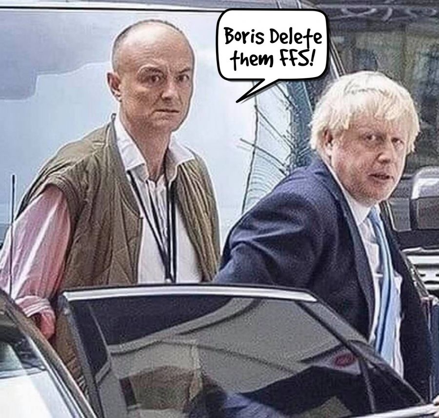 Boris Delete them FFS!  | phrase.it