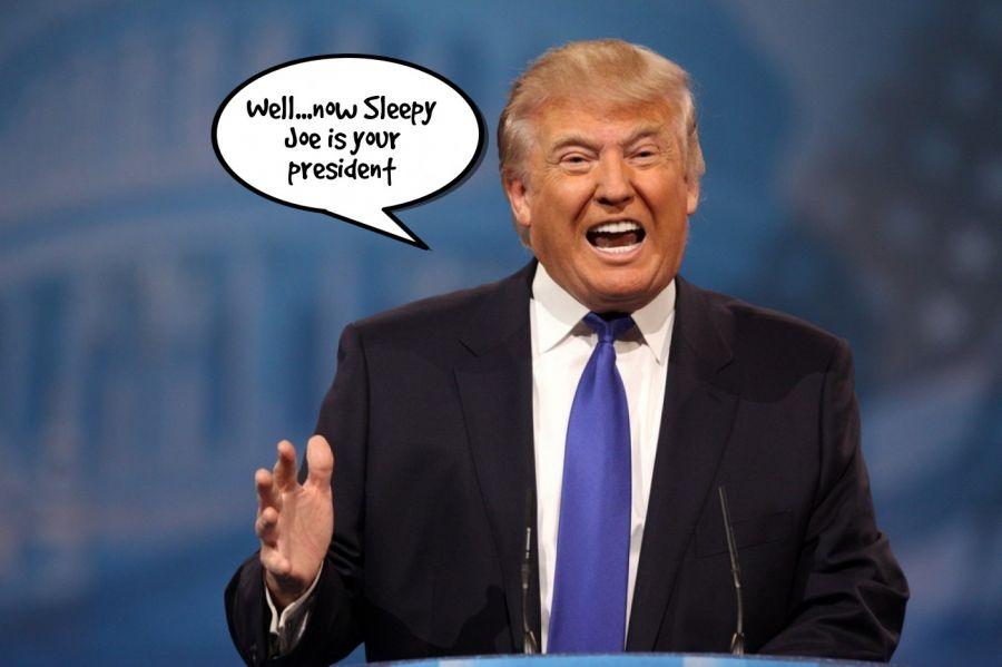 Well...now Sleepy Joe is your president  | phrase.it