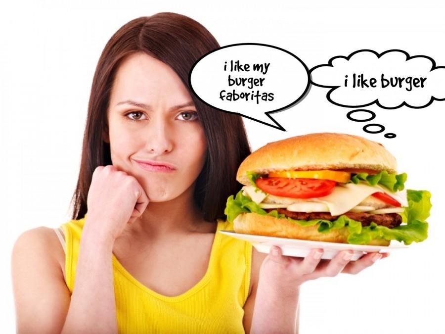 i like burger  | phrase.it