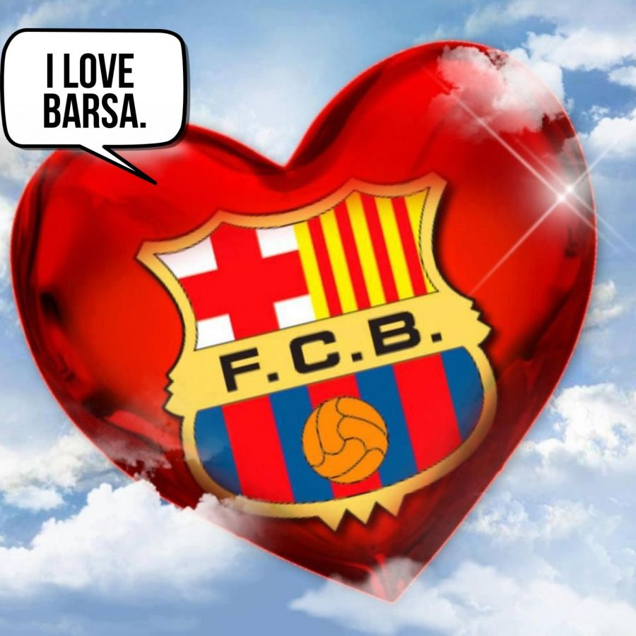 i love barsa.  | phrase.it