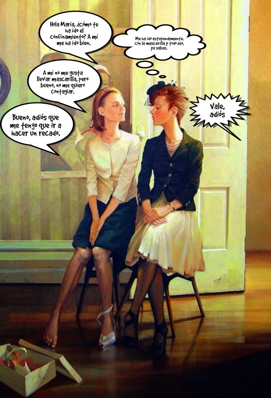 Hola María, ¿Cómo te ha ido el confinamiento? A mí me ha ido... | phrase.it