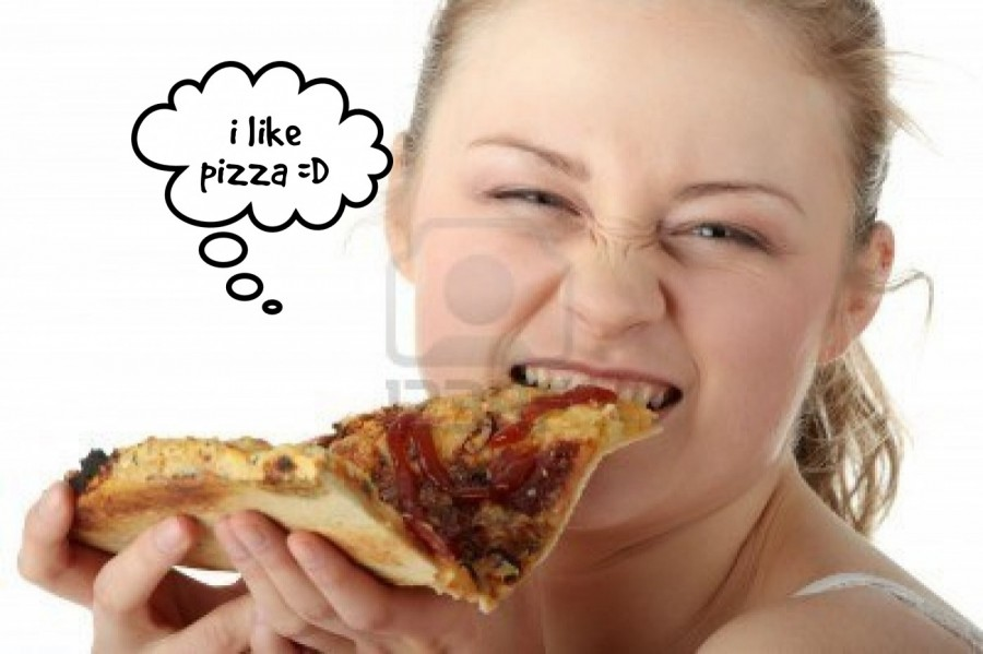 i like pizza =D  | phrase.it
