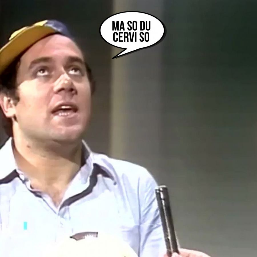 Ma so du cervi so  | phrase.it