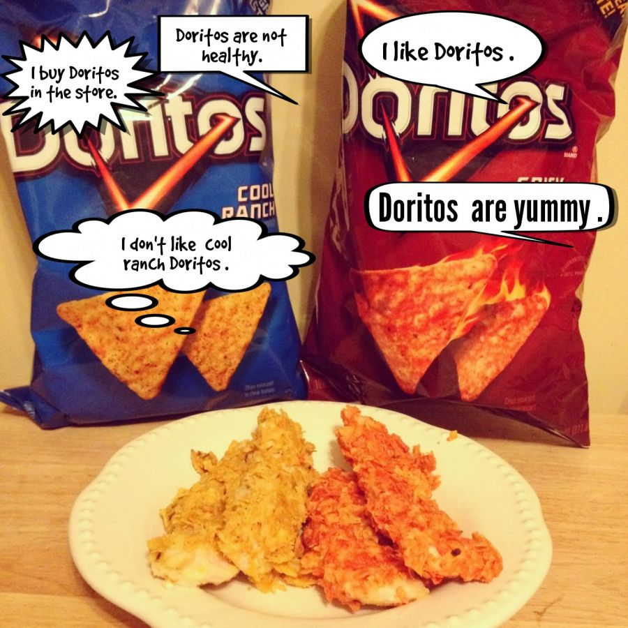 I like Doritos .  | phrase.it