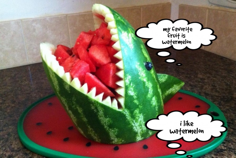 i like watermelon  | phrase.it