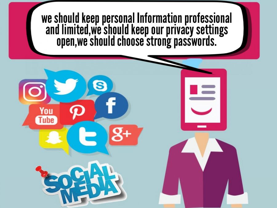 we should keep personal Information professional and limited... | phrase.it
