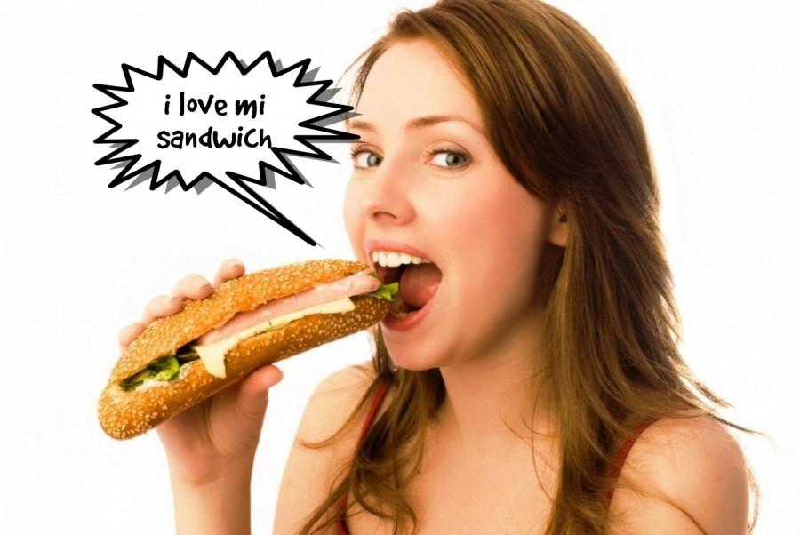 i love mi sandwich  | phrase.it