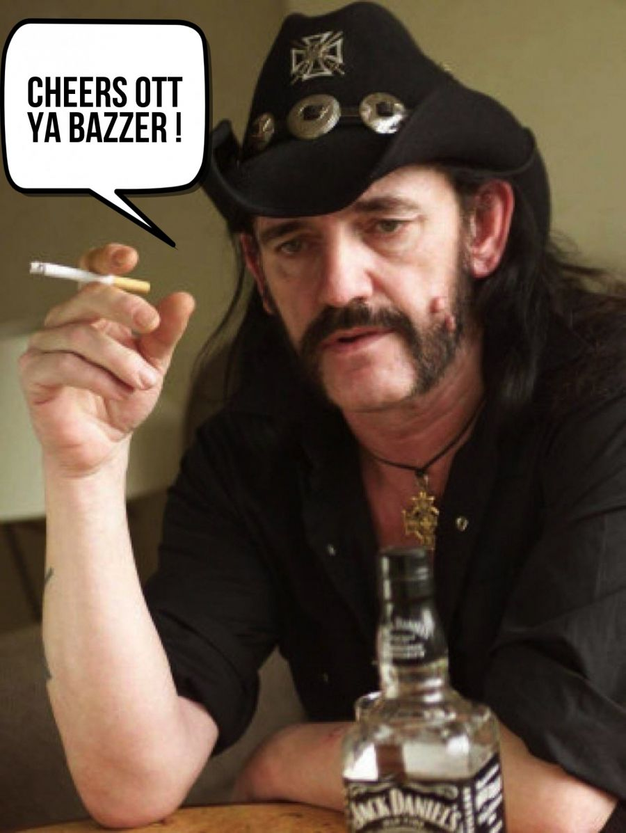 Cheers Ott YA Bazzer !  | phrase.it