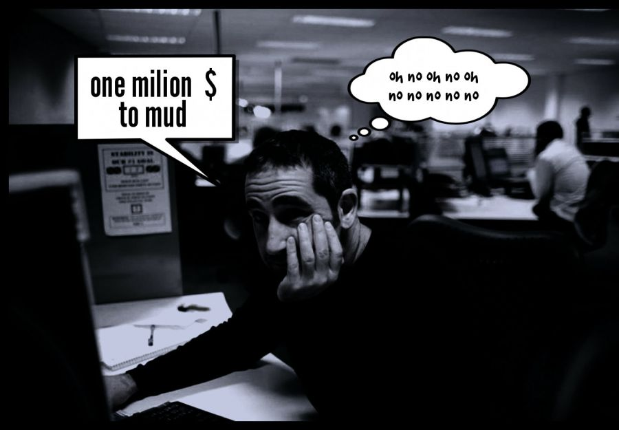 one milion  $ to mud  | phrase.it